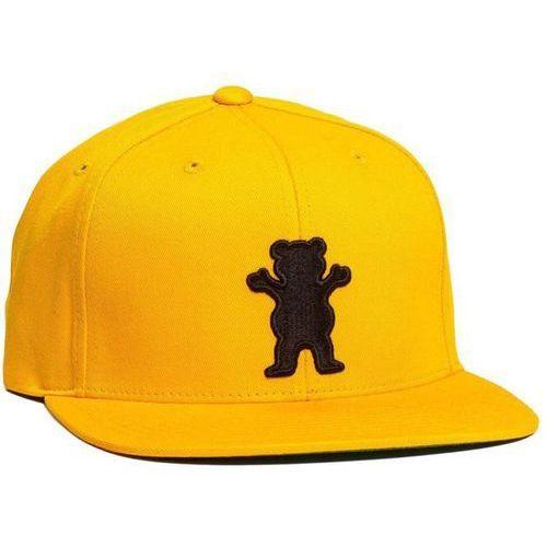 Czapka z daszkiem - og bear snapback gold (gld) rozmiar: os marki Grizzly