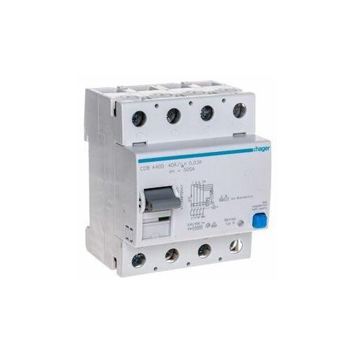 Wyłącznik różnicowoprądowy 4P 40A 0,03A typ B CDB440D