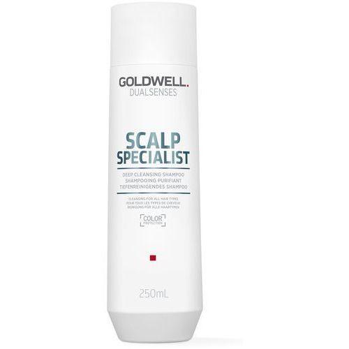 dualsenses scalp specialist szampon głęboko oczyszczający do wszystkich rodzajów włosów (color protection) 250 ml marki Goldwell