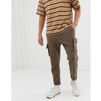 join life cargo chino in brown - brown, Pull&bear, XS-XL