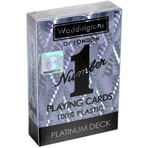 Winning moves Karty do gry waddingtons no. 1 classic platinum (5036905035521)
