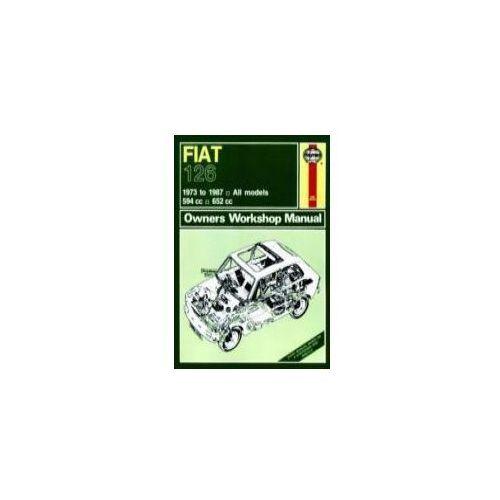 Fiat 126 Owner's Workshop Manual, książka z kategorii Literatura obcojęzyczna