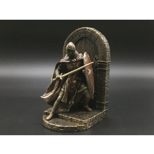 Veronese Podpórka do książek – maltański rycerz z tarczą (wu76973a4)