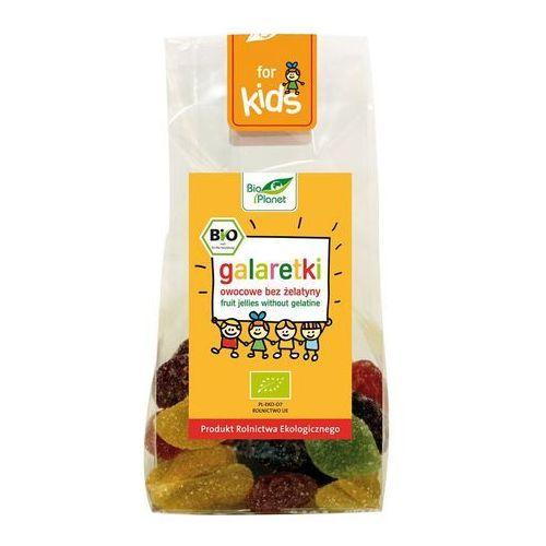 : galaretki owocowe bez żelatyny bio - 100 g marki Bio planet