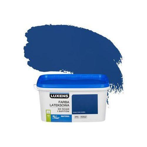 Luxens Farba wewnętrzna do ścian i sufitów emulsja 5 l kobaltowa głębia