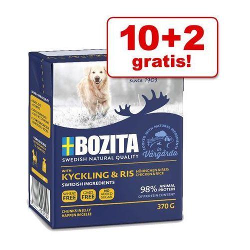 10 + 2 gratis! Bozita Naturals w galarecie, 12 x 370 g - Łosoś| DARMOWA Dostawa od 89 zł + Promocje od zooplus!| -5% Rabat dla nowych klientów, MOL-16324