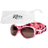 Banz Okulary przeciwsłoneczne uv dzieci 2-5lat retro - pink camo (9330696002462)