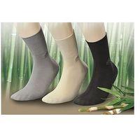 Skarpety deo med zdrowotne/bamboo rozmiar: 43-46, kolor: czarny/nero, jjw marki Jjw
