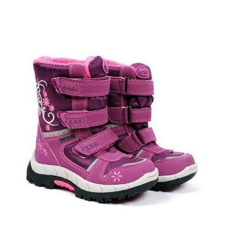 Różowe śniegowce dziecięce American Club HLA31812 dk.fuxia/fuxia 25 różowy - produkt z kategorii- Kozaczki dla dzieci