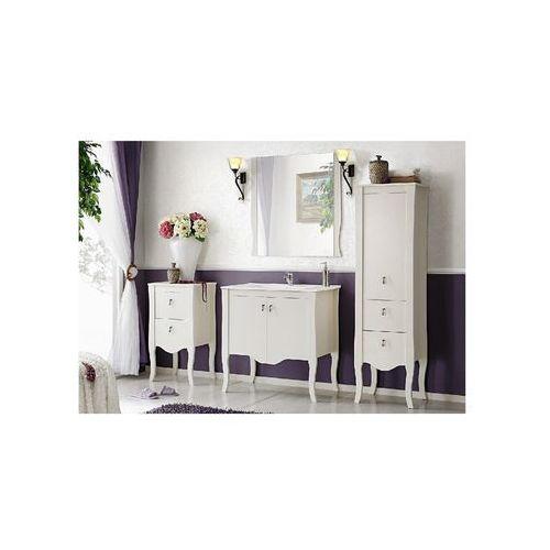 Zestaw stylizowanych, mebli łazienkowych 80 cm elisabeth marki Comad
