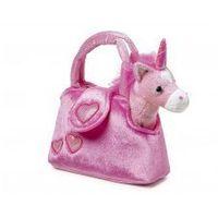 Torebka pluszowa dla dziewczynki różowy jednorożec marki Small foot