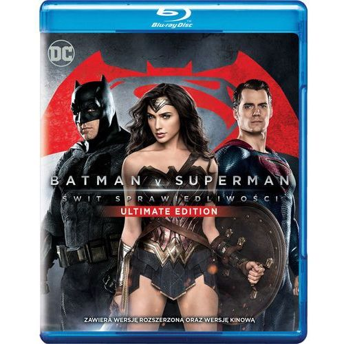 Zack snyder Batman v superman: świt sprawiedliwości ultimate edition (blu-ray) -