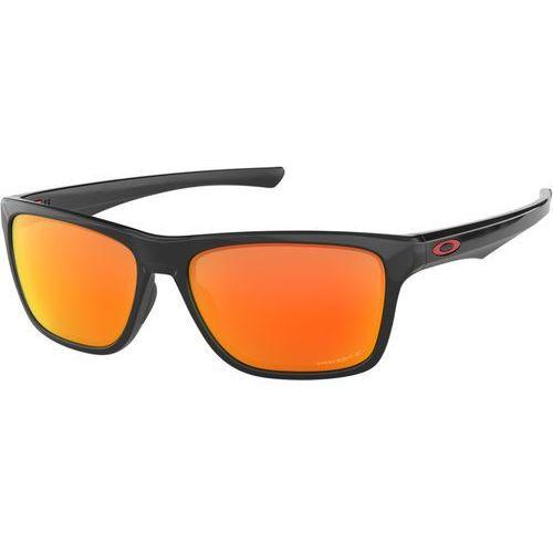 Oakley Holston Okulary rowerowe pomarańczowy/czarny 2018 Okulary przeciwsłoneczne