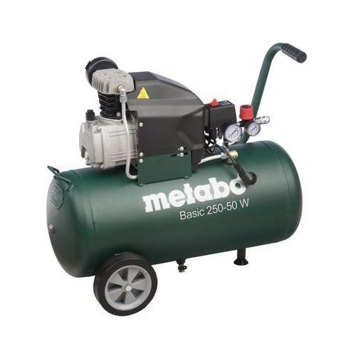 Kompresor olejowy 50 l 8 bar basic 250-50 w marki Metabo