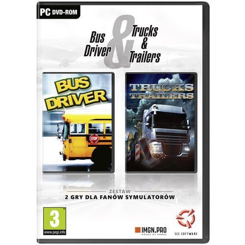 Bus Driver & Trucks And Trailers (PC)