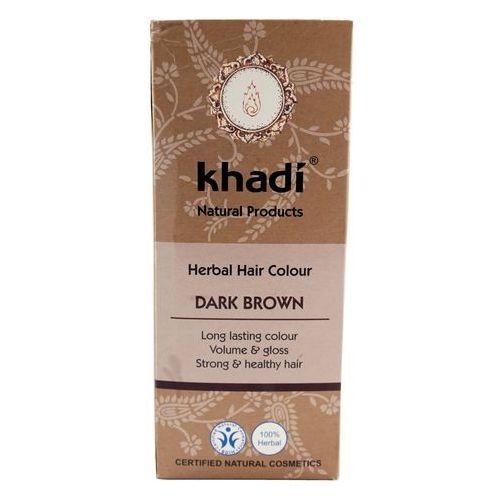 Khadi - ciemny brąz henna naturalna (4260378040169)
