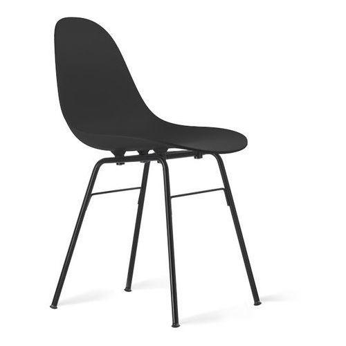 Kubikoff :: krzesło ta z podstawą metalową czarną - kolor do wyboru