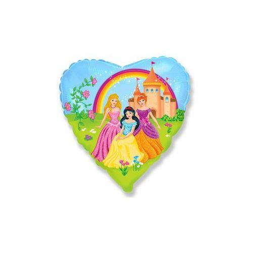 Flx Balon foliowy serce princess - 46 cm - 1 szt. (8435102301908)