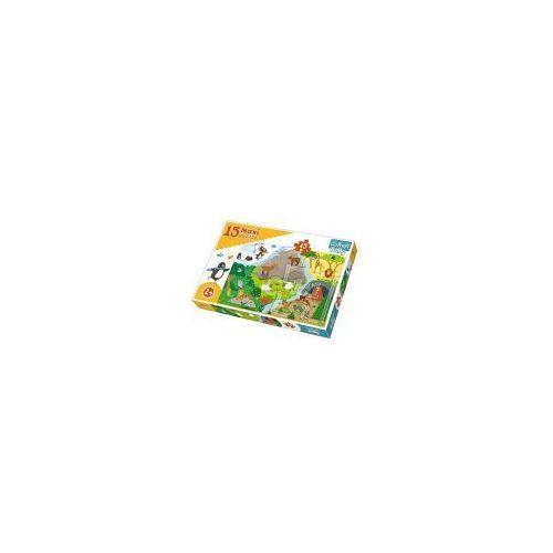 Trefl Puzzle baby 15 elementów maxi - zwierzątka i ich domki - poznań, hiperszybka wysyłka od 5,99zł!