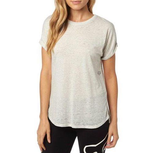 koszulka FOX - Escaped Crew Rll Slve Light Heather Grey (416) rozmiar: XS, kolor szary