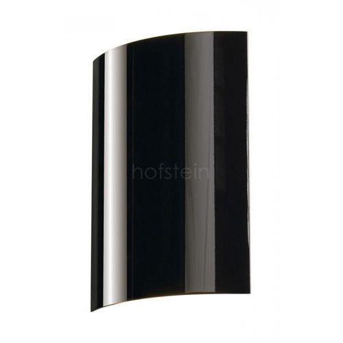 Lampa ścienna led sail 1 151610, led wbudowany na stałe, 3000 k, (sxw) 6 cm x 30 cm, czarny marki Slv