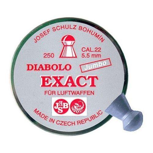 śrut 5,5 mm JSB EXACT JUMBO 250 szt. (EXA5,50) (5908262110268)