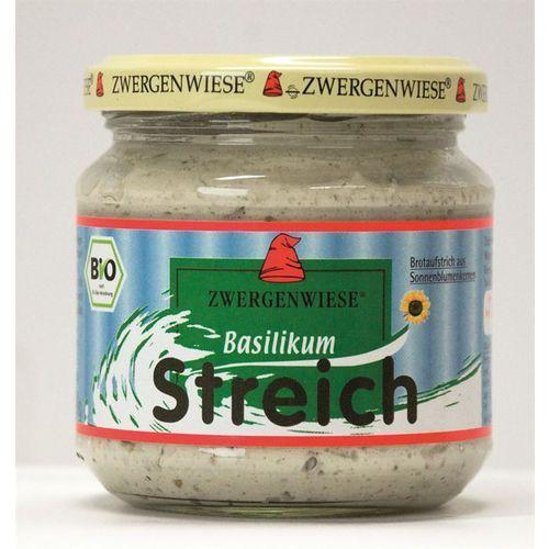 Pasta słonecznikowa z bazylią 180g BIO (bezglutenowa) - Zwergenwiese (zdrowa żywność)