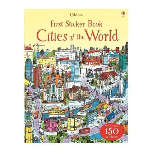 First Sticker Book: Cities of the World