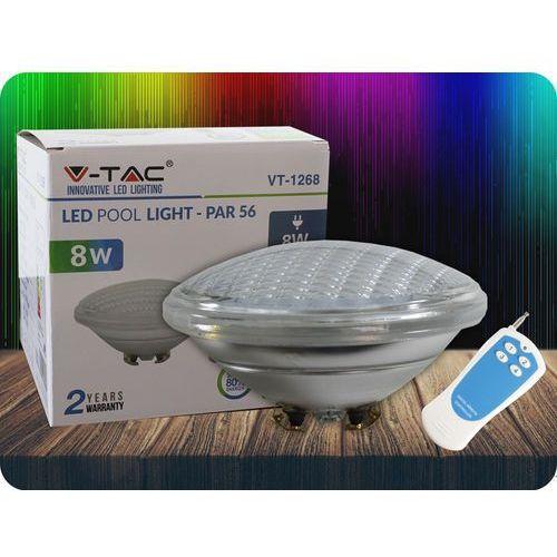 LED LAMPA BASENOWA 8W, PAR56, 12V, IP68, RGB