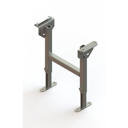 Stojak podwójny, ocynkowany, szer. taśmy 400 mm, zakres regulacji 330 - 480 mm.