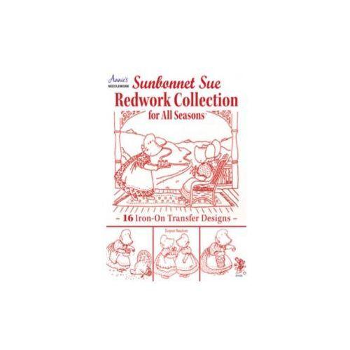 Sunbonnet Sue Redwork Collection, Saxton, Loyce