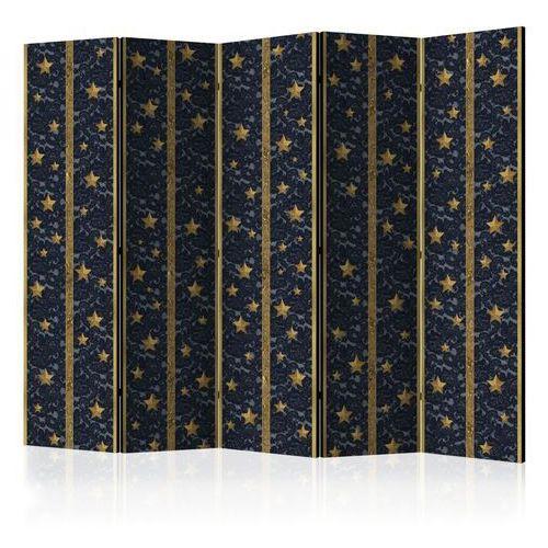 Parawan 5-częściowy - koronkowy gwiazdozbiór ii [room dividers] marki Artgeist