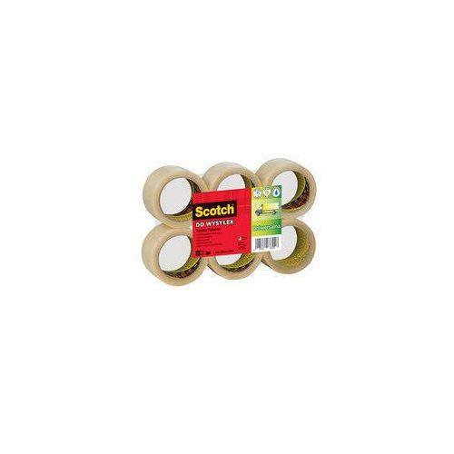 3M Taśma pakowa 3M Scotch reg 50mm x 66m Hot Melt (13K038S) Darmowy odbiór w 21 miastach!, 13K038S