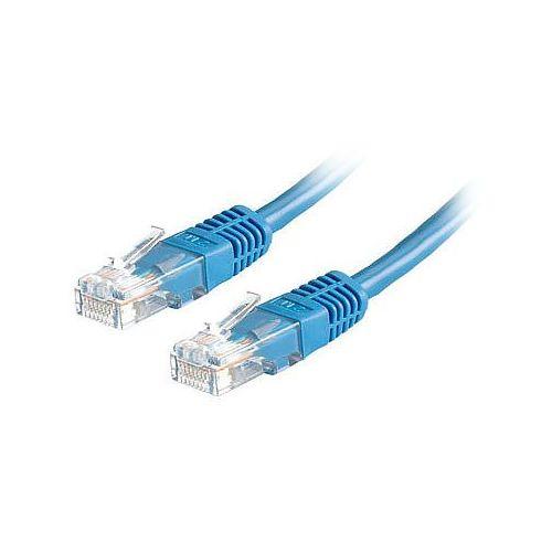 Patchcord kabel sieciowy RJ-45, 2m cat.5e niebieski