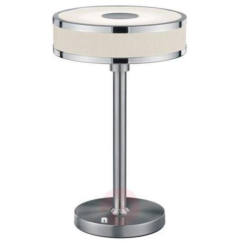 Niklowana lampa stołowa LED Agento (4017807391190)