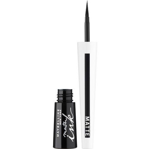 Maybelline  - master ink satin - tusz do kresek - (satynowy) - 01 luminous black (30118867)