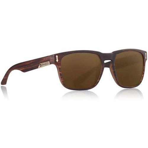 okulary słoneczne DRAGON - Dr513Sw Monarch W Matte Woodgrain Bronze (281) rozmiar: OS