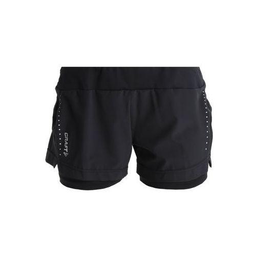 Craft ESSENTIAL SHORTS Krótkie spodenki sportowe black
