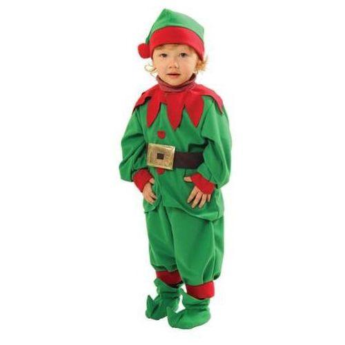 Strój Elf - mały pomocnik Mikołaja - dla dzieci, - 110/116