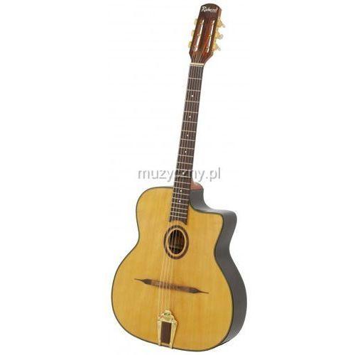 rm 150 nt gitara jazzowa hot club lite drewno świerk marki Richwood