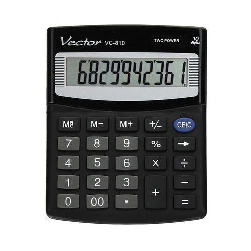Kalkulator 10pozycyjny VC810 Vector, CA5042. Najniższe ceny, najlepsze promocje w sklepach, opinie.