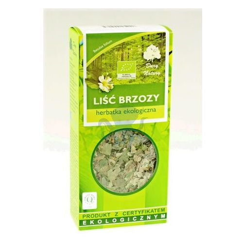 Dary natury  herbatka brzoza liść eko 50g