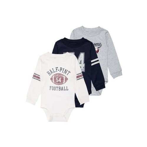 Carter's BOY FOOTBALL ATHELTIC MULTI BABY 3 PACK Body ivy ivory, 127G632