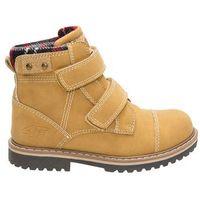 Buty jesienne dla dużych chłopców jobmw203z - beż miodowy marki 4f junior