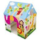 Domek dla dzieci z okienkiem dżungla 95 x 75 x 107 cm INTEX 45642 zdjęcie 4