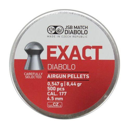 Śrut Diabolo JSB EXACT 4,51 mm 500szt. (061-004) - sprawdź w wybranym sklepie