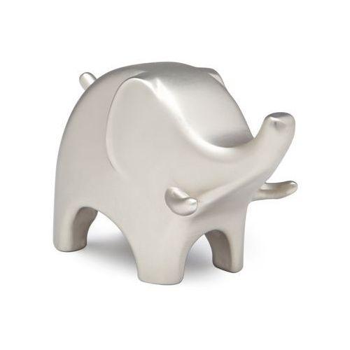 Stojak na pierścionki  anigram elephant nikiel marki Umbra