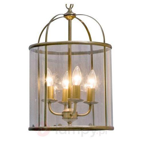 Steinhauer PIMPERNEL lampa wisząca Brązowy, 4-punktowe - Nowoczesny - Obszar wewnętrzny - PIMPERNEL - Czas dostawy: od 2-3 tygodni (8712746051957)