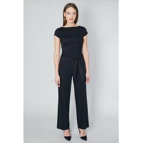 Spodnie damskie model cedar 10596 black marki Click fashion