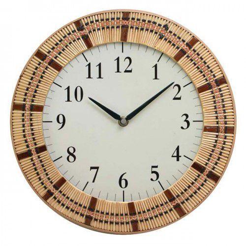 Zegar kwarcowy natura #8, ECO8